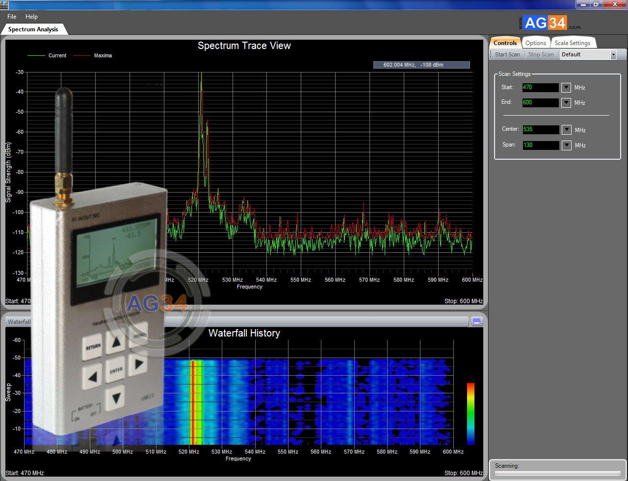 SA-1 Böcek Arama Spektrum Analizörü